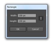 параметры создания фигуры