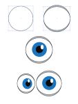 Глаза вектор