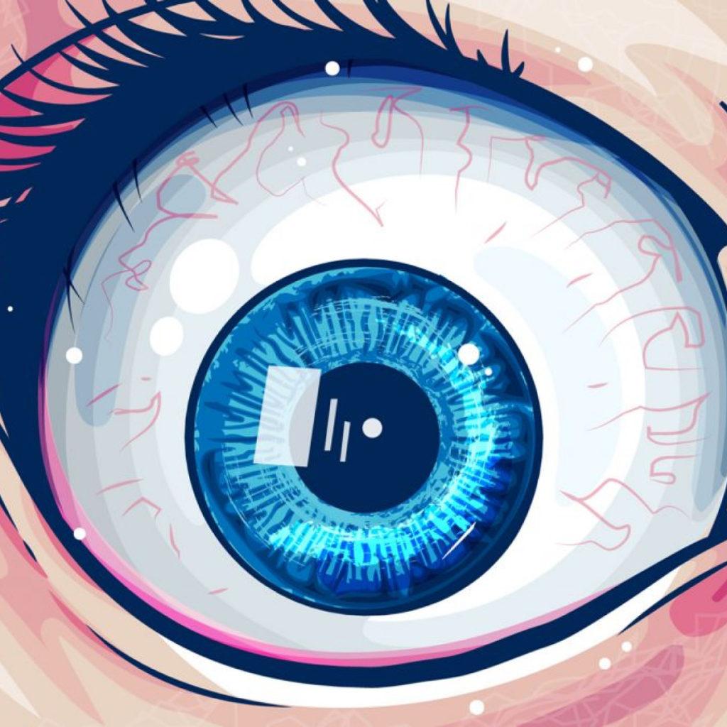 глаз adobe illustrator