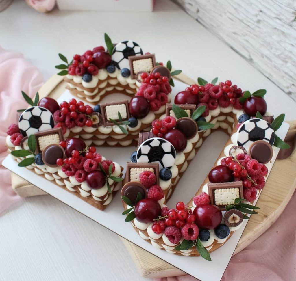 медовый коржи торт цифра