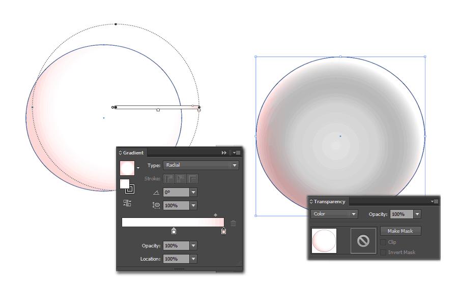 Создаем основу глазного яблока в Adobe Illustrator